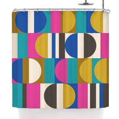 Jacqueline Milton Geotech Shower Curtain