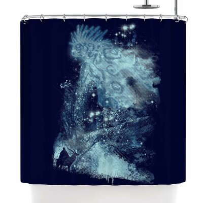 Frederic Levy-Hadida Forest Spirit Rising Shower Curtain