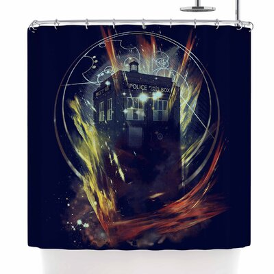 Frederic Levy-Hadida Its Lightfull inside Shower Curtain