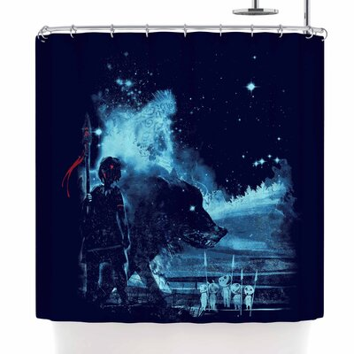 Frederic Levy-Hadida Nature Defenders Illustration Shower Curtain