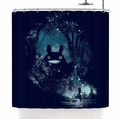 Frederic Levy-Hadida the Big Friend Shower Curtain