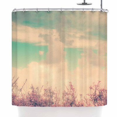 Graphic Tabby Spring Daydream Shower Curtain