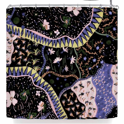 Fernanda Sternieri Oriental Patchwork Shower Curtain