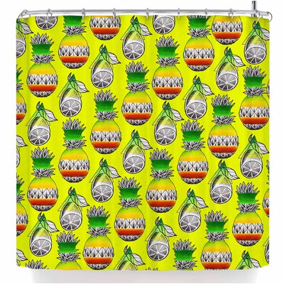 Ivan Joh Fruit Illustration Shower Curtain