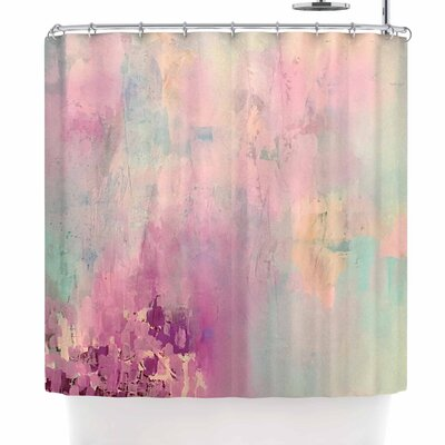 Geordanna Fields Serene Nebula Shower Curtain
