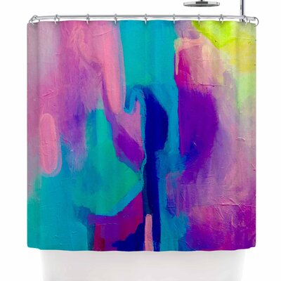 Geordanna Fields Deveraja Abstract Shower Curtain