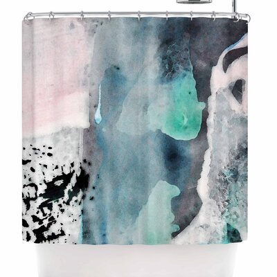 Iris Lehnhardt Abstract Color Shower Curtain