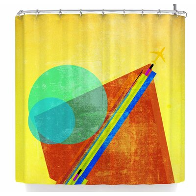 Frederic Levy-Hadida Landing Shower Curtain