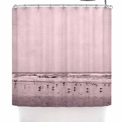Iris Lehnhardt Seagulls Shower Curtain