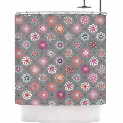 Jolene Heckman Mini Floral Shower Curtain