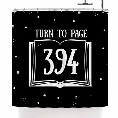 Jackie Rose Turn To Page 394 Shower Curtain