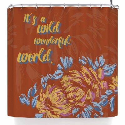 Gukuuki Wonderful World Shower Curtain