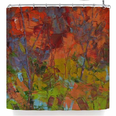 Jeff Ferst Fall Colours Shower Curtain