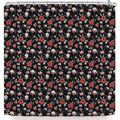 Mayacoa Studio Floral Field Shower Curtain