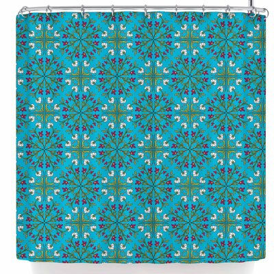 Mayacoa Studio Morrocan Tile in Geometric Shower Curtain