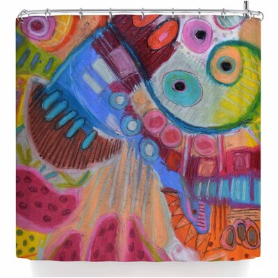 Jeff Ferst Papaya Dream Shower Curtain