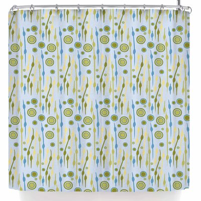Mydeas Dot Whimsy Vector Shower Curtain