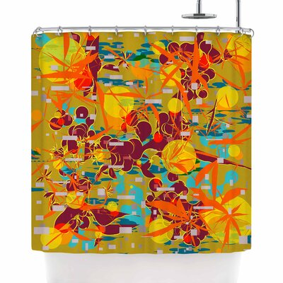 Frederic Levy-Hadida Foliage Folie 3 Shower Curtain