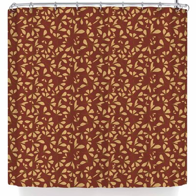 Mayacoa Studio Under the Hour Floral Shower Curtain