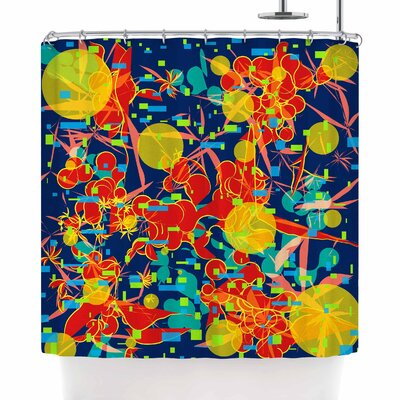 Frederic Levy-Hadida Foliage Folie 2 Shower Curtain