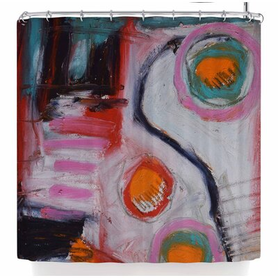 Jeff Ferst Bold New Day Shower Curtain