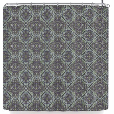 Mydeas Scroll Damask Vector Shower Curtain