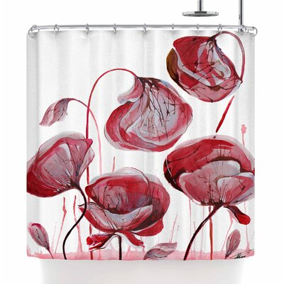 Ivan Joh Poppies Shower Curtain