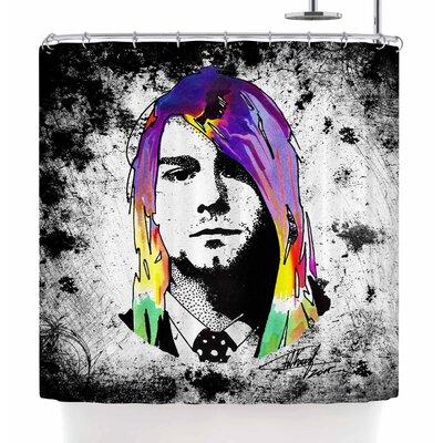 Ivan Joh Grunge Shower Curtain