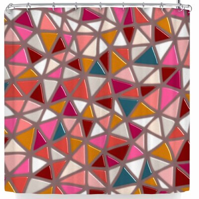 Pellerina Geo Mosaic Geometric Modern Shower Curtain
