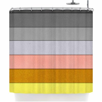 Ivan Joh Sandy Road Shower Curtain