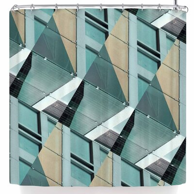 Tiny September Diagonal Arrows Photography Shower Curtain