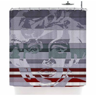 Ivan Joh Star Monroe Shower Curtain
