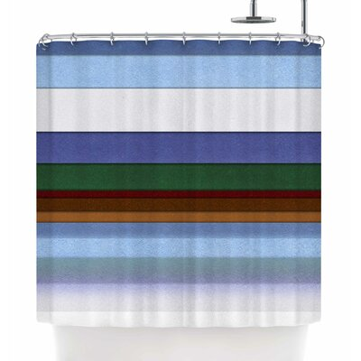Ivan Joh Alaska Shower Curtain