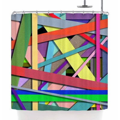 Ivan Joh Color Mood Illustration Shower Curtain
