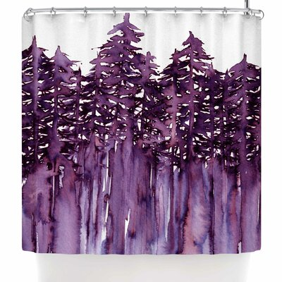 Ebi Emporium Forest Through the Trees 2 Shower Curtain
