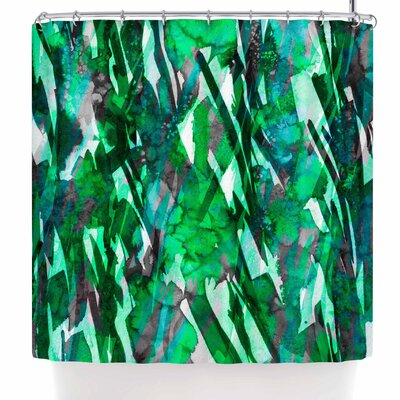 Ebi Emporium Frosty Bouquet 7 Abstract Shower Curtain