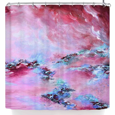 Ebi Emporium Sea To Sky 3 Abstract Shower Curtain