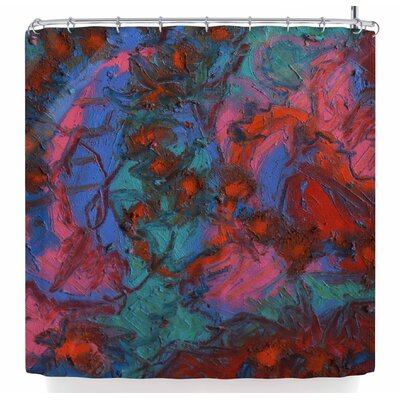 Jeff Ferst Koi Pond Shower Curtain