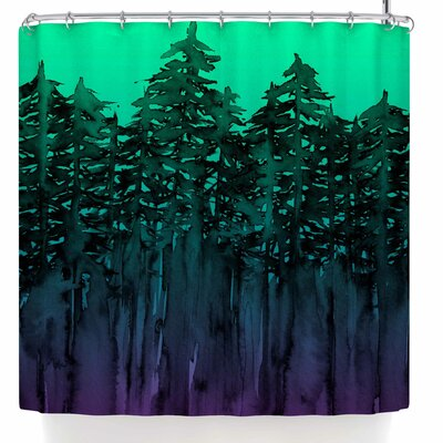 Ebi Emporium Forest Through the Trees 9 Shower Curtain