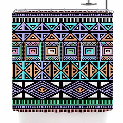 Fimbis AztecToo Shower Curtain