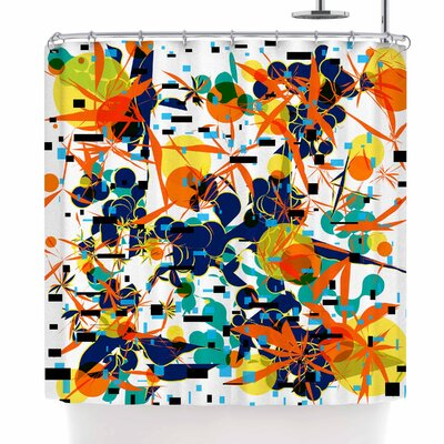 Frederic Levy-Hadida Foliage Folie 1 Shower Curtain