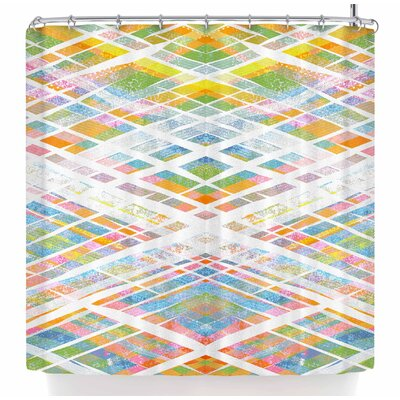 Frederic Levy-Hadida Losanges 2 Shower Curtain