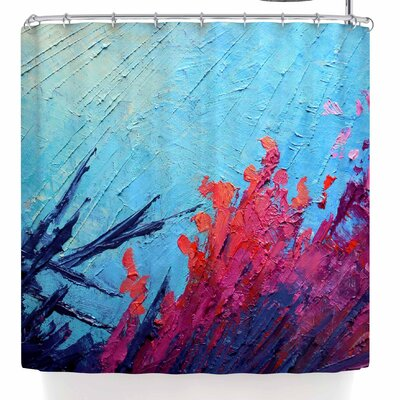 Carol Schiff Coral Reef Shower Curtain