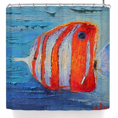 Carol Schiff Coral Reef Fish 1 Shower Curtain