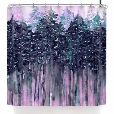 Ebi Emporium Northwest Vibes 5 Shower Curtain