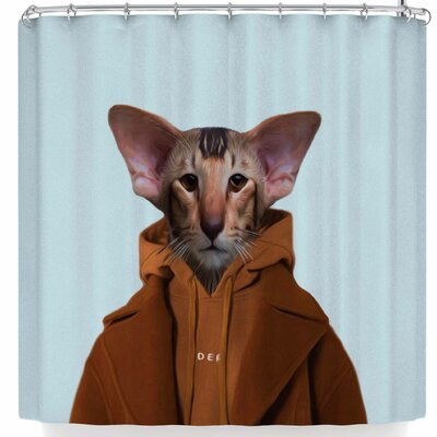 Natt Monsieur Roland Shower Curtain