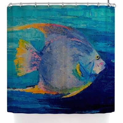 Carol Schiff Tropical Fish II Shower Curtain