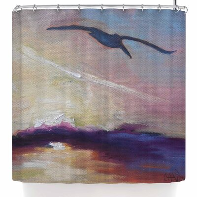 Carol Schiff Sunrise Sortie Shower Curtain