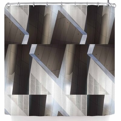 Tiny September Architexture Photography Shower Curtain