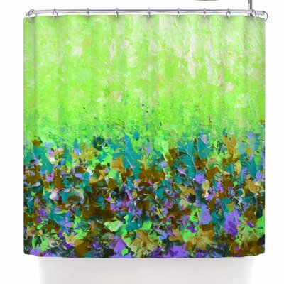 Ebi Emporium Natures Living Room Shower Curtain Color: Green